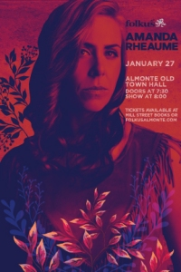Amanda Rheaume plays Almonte Jan 27th, 2018