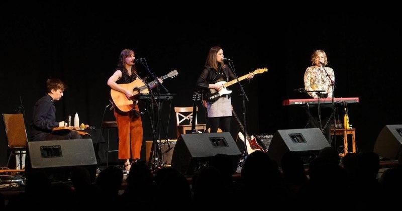 The Good Lovelies performed in Almonte, Jan 2020